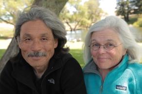 Kenji Yamamoto and Nancy Kelly